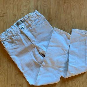🍭GAP white skinny jeans - 5T